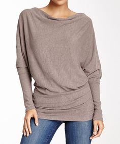 Take a look at this Sisters Khaki Dolman Pullover on zulily today!