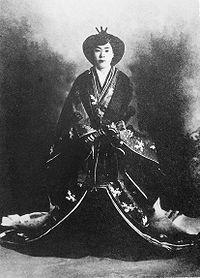 竹田宮恒久王妃昌子内親王(たけだのみやつねひさおうひまさこないしんのう)殿下(明治天皇第6皇女) Takeda-no-miya-hi Masako.jpg