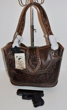See related links to what you are looking for. Concealed Carry Women, Concealed Carry Purse, Conceal Carry, Montana, Cowgirl Bling, Shoulder Bag, Tote Bag, Purses, Handgun