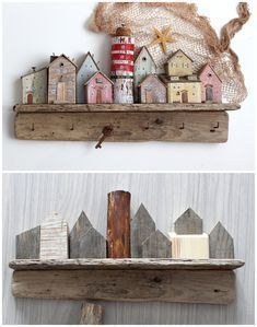 Ideal for hanging necklaces, jewelry, keys, kitchen towels, light clothing or dog leashes . Driftwood Wall Art, Driftwood Crafts, Wooden Crafts, Driftwood Jewelry, Lighthouse Gifts, Lighthouse Decor, Handmade Home, Home Decor Styles, Cheap Home Decor