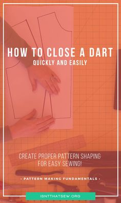 How to close a dart quickly and easily