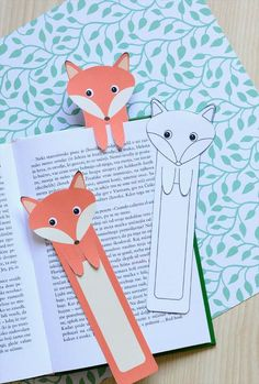 Printable Fox Bookmarks – DIY Bookmarks Printable Fox Bookmarks – DIY Bookmarks – Easy Peasy and Fun The post Printable Fox Bookmarks – DIY Bookmarks appeared first on Woman Casual - DIY and crafts Cute Bookmarks, Paper Bookmarks, Bookmark Craft, Origami Bookmark, Printable Bookmarks, Bookmark Ideas, Bookmark Making, Handmade Bookmarks, Corner Bookmarks