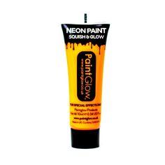 Paintglow 10ml Uv Face & Body Paint-sun Orange