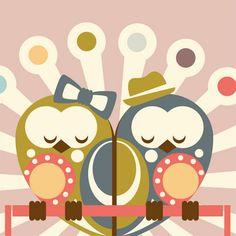Mr. & Mrs Owl.