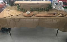 Custom rustic table - ideal for a beautiful antipasto grazing table or even for a gorgeous dessert display