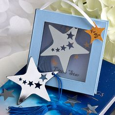 """Adorable """"Little Star"""" book mark favors, Wedding Favors, Quinceanera Favors, Baby Shower Favors, Birthday Party Favors Fiesta Baby Shower, Baby Shower Parties, Baby Shower Themes, Shower Ideas, Baby Party, Space Baby Shower, Unique Baby Shower, Quinceanera Favors, Baby Thank You Cards"""
