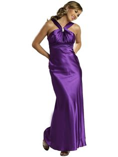 Straps Ruffles Sleeveless Floor-length Elastic Woven Satin Prom Dresses