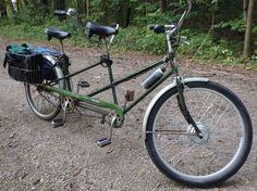 e-bikekit on tandem bicycle
