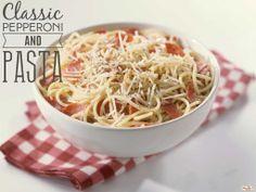 Classic Pepperoni and Pasta #hormelfoods #recipe