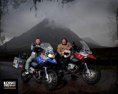 Ewan & Charley's Long Way Down & Long Way Round Motorbiking Adventures