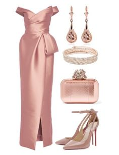Image about outfit in Fancy Dress 👗🎀👠🎀 by Michelle Gnoix Dressy Outfits, Chic Outfits, Elegant Dresses, Beautiful Dresses, Instagram Look, Royal Clothing, Elegantes Outfit, Polyvore Outfits, Occasion Dresses