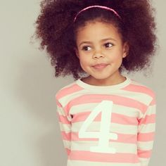 New Bob & Blossom Numbers t-shirt colourway: Posy Pink & Sand. Perfect for a little girl's birthday! Numbers 1 to 5.