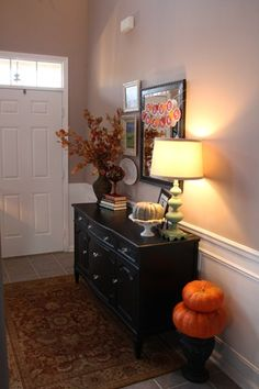 Dresser for storage and entry way table