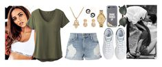 """""""Love begins where the friendship stops"""" by i-m-penguin-purple974 ❤ liked on Polyvore featuring prAna, Frame, adidas, Lacoste, Kate Spade and Ray-Ban"""