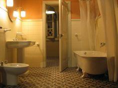 bathrooms (Diseño) por Francisco del Pozo Parés sanitarios a escala 1/12. Color blanco.