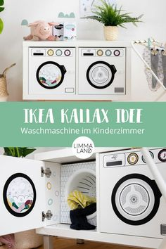 aufkleberset-kinder-waschmaschine-und-trockner-fur-ikea-kallax-eket/ delivers online tools that help you to stay in control of your personal information and protect your online privacy. Etagere Kallax Ikea, Diy Kallax, Trofast Ikea, Ikea Kallax Shelf, Ikea Regal, Ikea Kallax Regal, Ikea Kids, Ikea Living Room, Ikea Bedroom