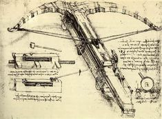 DaVinci's giant crossbow