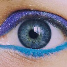 Il mio occhio #yaryna #occhio #occhioazzurro #blueeye #eye #girl #ragazza #arcobaleno #colorful #colors #blue #blu #yeux #oeil