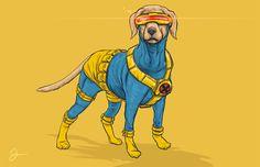 Los perros se convierten en súper héroes. Por Josh Lynch