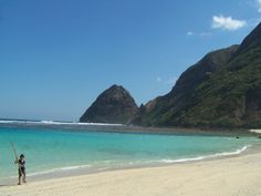Tropical :Beach , Sekongkang, - Sumbawa Island - Indonesia. Ahh! Super fun beach. The tide is a little tricky but snorkeling is great.
