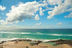 Fraser Island's beautiful beaches in Brisbane, #Australia