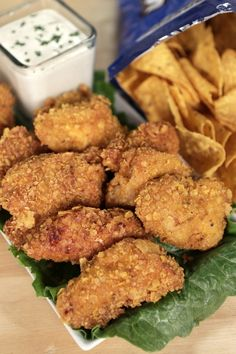 Cool Ranch Doritos Chicken Tenders