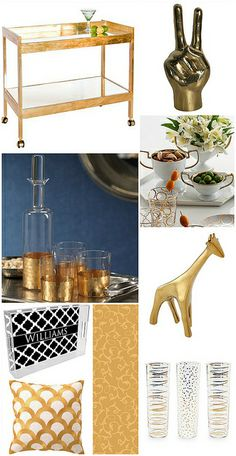 Gold Gift Ideas by krystalskitsch, via Flickr
