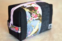 SAGANO Täschchen - genäht von NORIKO handmade www.noriko-handmade.de #Japan #japanische #Stoffe