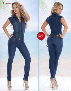 Enterizo de Jean — Venta de Jeans Colombianos Online