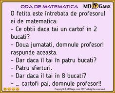 Ora de matematica   #Bancuri cu profesori