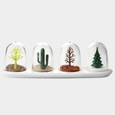 No Space Design: Four Seasons Spice Shakers