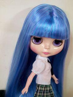 """Takara 12"""" Neo Blythe Nude Doll from Factory 218 Mix Hair #Takara"""