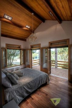 Casa de Campo Quinta do Lago - Tarauata: Quartos por Olaa Arquitetos #casasdecampo #casasdecampomodernas