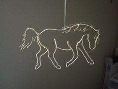 Wire Horse, Trot 1 by BrickChick12