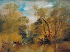 Turner, Joseph Mallord William - Saules sur le bord de l'eau - Tate Britain…