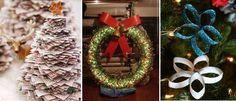 Se você está buscando ideias diferentes para decoração de Natal deste ano, saiba que os enfeites de Natal com materiais recicláveis são opções excelentes, além de colaborar com a sustentabilidade.