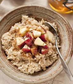 The natural sweetness of cooked apples pairs wonderfully with the crunch of pecans and gets some added flavor from cinnamon and brown sugar. Get the recipe here.  - WomansDay.com