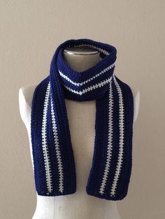 Blue Ivy Crochet Scarf by AllThingsUniqueShop on Etsy