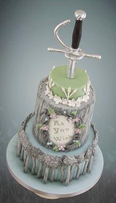 The amazing Little Cherry Cake Company's Princess Bride wedding cake