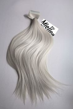 Icy Ash Blonde Tape In Hair Extensions Silky by MissMiellee