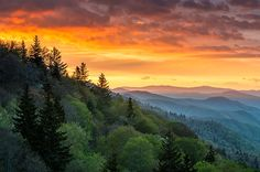 Cherokee Rising - Great Smoky Mountains landscape #photography by Dave Allen www.daveallenphotography.com