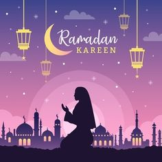 Know about Ramadan the Ninth Month of Islamic Calender. Why Muslims do Fasting in Ramadan and Islamic Traditions in the month of Ramadan Design Plat, Flat Design, Logo Design, Vector Design, Ramadan Background, Festival Background, Eid Mubarak, Banner Design, Ramadan Design