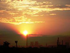 Industrial sunrise 2