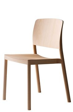Grace is a minimalist design created by Sweden-based designer Staffan Holm. Grace is an all wood, stackable chair that comes in ash or beech with or without armrest and upholstery. Grace is just as suitable for a home as for a large public project. The chair comes in beech natural lacquer, ash wood natural lacquer, ash wood white lazur finish or ash wood black lazur finish. (4)