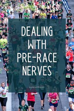 Pre-race nerves and jitters are totally normal for even the most experienced runners. But you can calm those nerves and productively channel that energy into your race day prep. On the blog- strategies to deal with pre-race nerves. Half Marathon Tips, Half Marathon Motivation, Half Marathon Training Plan, What Do You Hear, Brain Dump, Write It Down, Running Tips, What To Pack, Race Day
