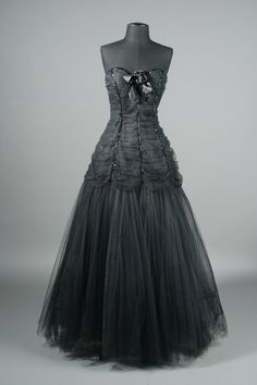 Lorcan Mullany creation ball gown from the Barbra Steisand collection
