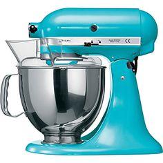 Kitchen Aid Artisan mixer crystal blue