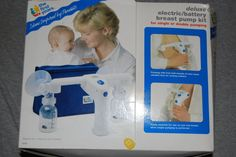 Double Electric Breast Pump The First Years Used Baby Suplies New Born Infant  #TheFirstYears