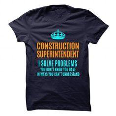 CONSTRUCTION SUPERINTENDENT T Shirts, Hoodies. Get it here ==► https://www.sunfrog.com/No-Category/CONSTRUCTION-SUPERINTENDENT-89831053-Guys.html?57074 $21.99
