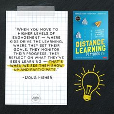 We're talking to Doug Fisher about the best practices in distance learning from their book with John Hattie — The Distance Learning Playbook: K-12 Teaching For Engagement and Impact in Any Setting. Our conversation covered plenty of practical tips for remote learning, specifically in the areas of student engagement and motivation, teacher clarity, online instruction, building relationships, asynchronous/synchronous learning, and more. Classroom Routines, Classroom Management Strategies, Classroom Procedures, Teaching Strategies, Teaching Tips, Brain Based Learning, Back To School Hacks, Teacher Inspiration, Teacher Quotes